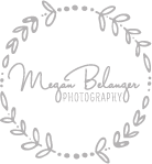 Megan Belanger Photography Logo